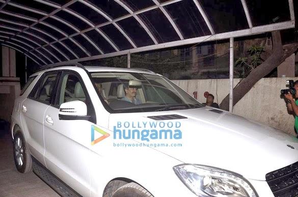 Alia,Neetu & Rishi Kapoor grace the special screening of 'Highway' at Lightbox