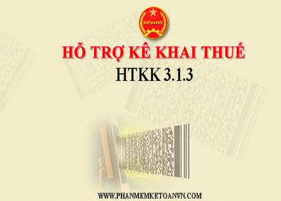 PHẦN MỀM KÊ KHAI THUẾ 3.1.3, PHAN MEM KE KHAI THUE 3.1.3