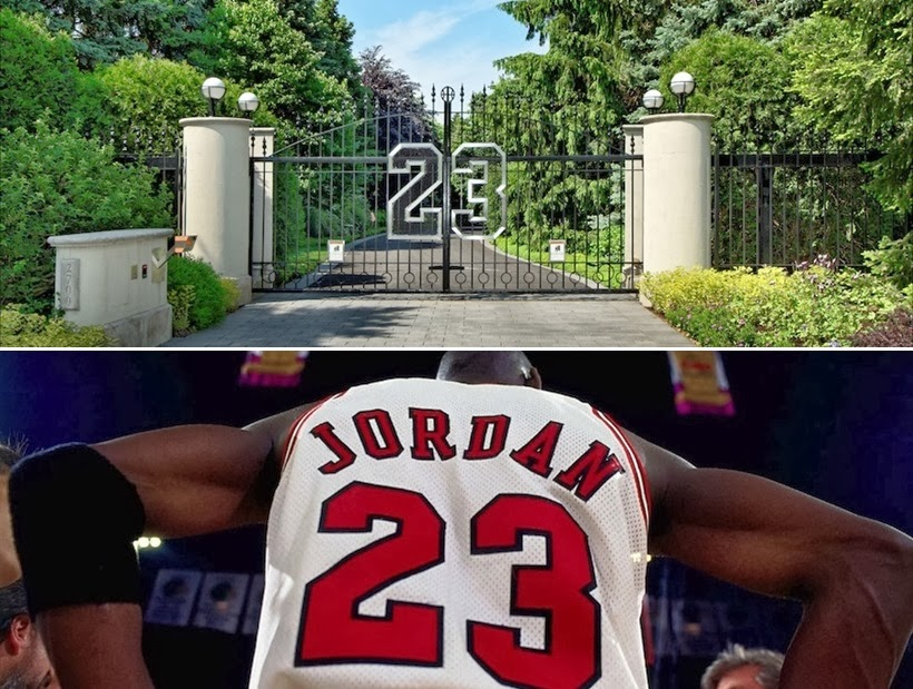 Gate of the Michael Jordan's House