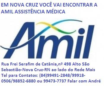 AMIL ASSISTÊNCIA MÉDICA EM NOVA CRUZ