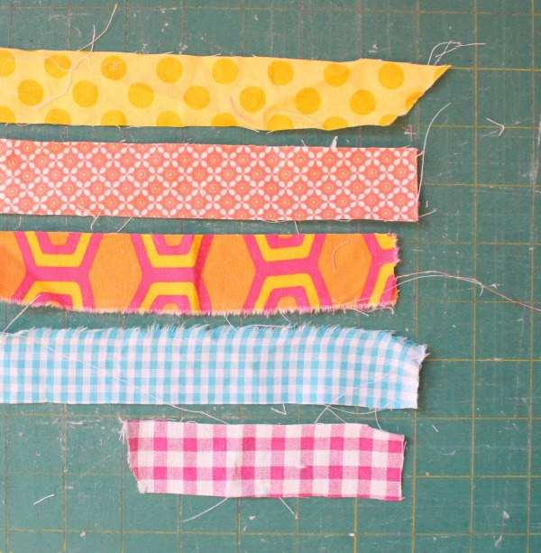 "1 1/2"" fabric strips"