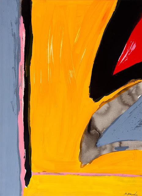 Una de las obras de Martínez Mengual dedicadas a Cernuda.