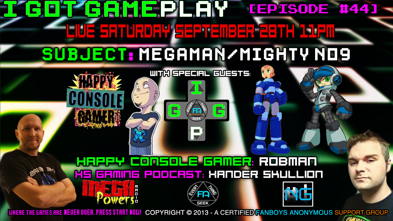 Robman Let's Play Mighty No 9 Happy Console Gamer Video