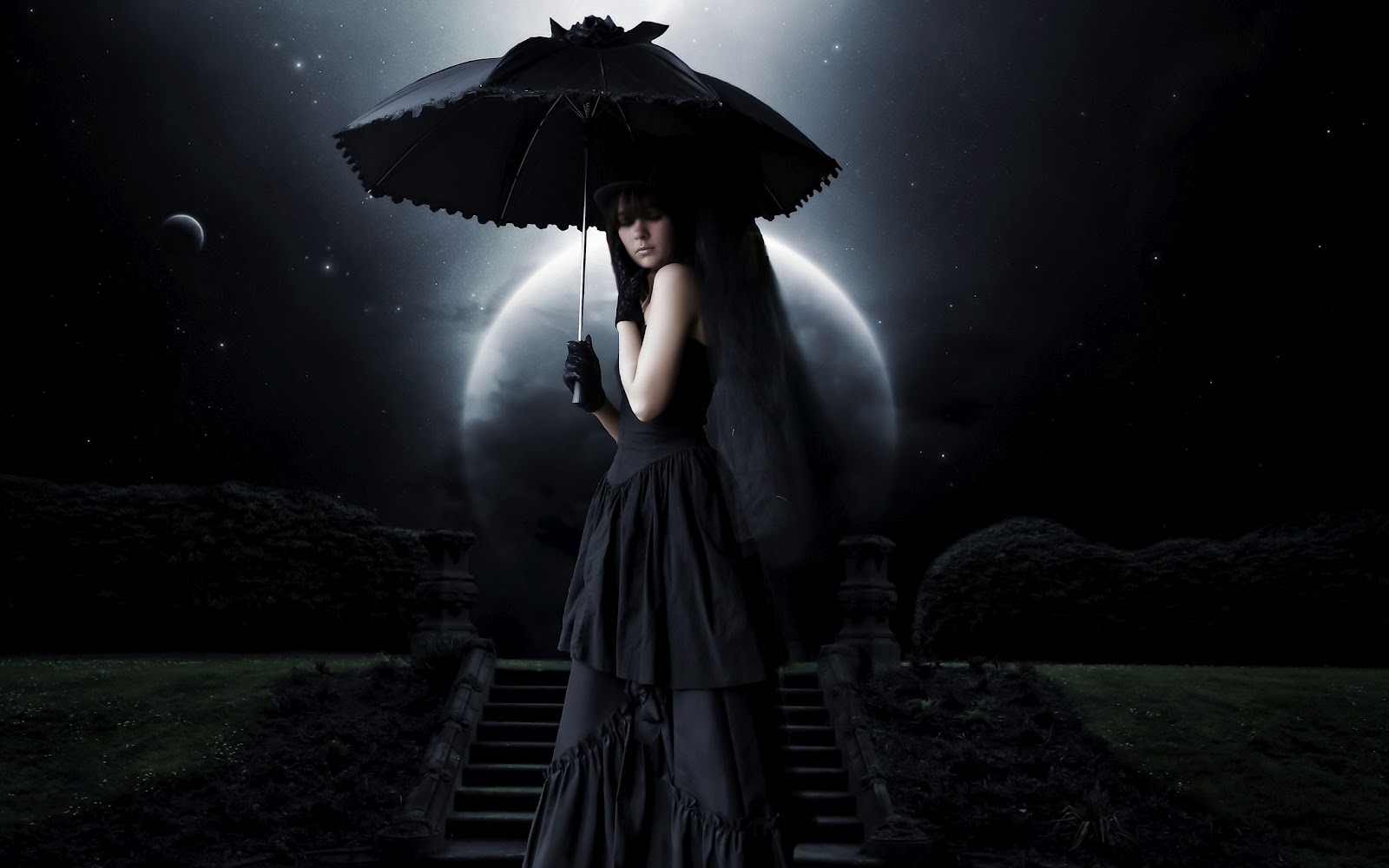 gothic girls wallpaper by - photo #25