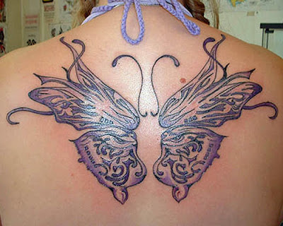Butterfly Tattoo on Back, Butterfly Tattoo ideas