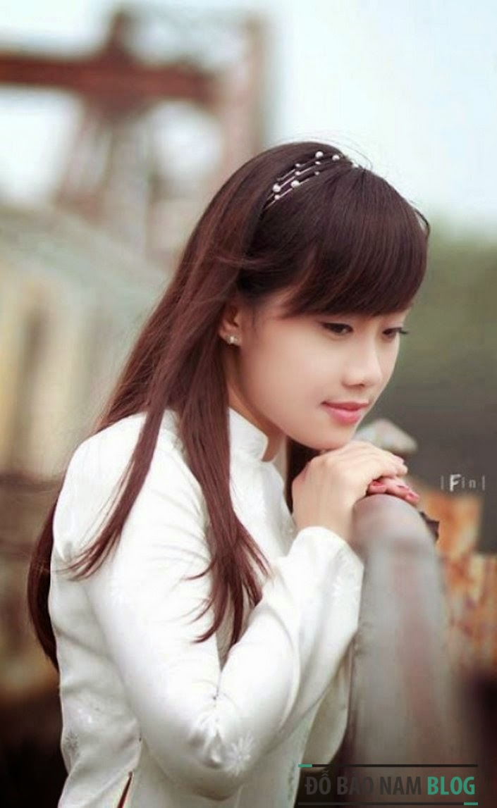 Girl xinh áo dài truyền thống Việt Nam