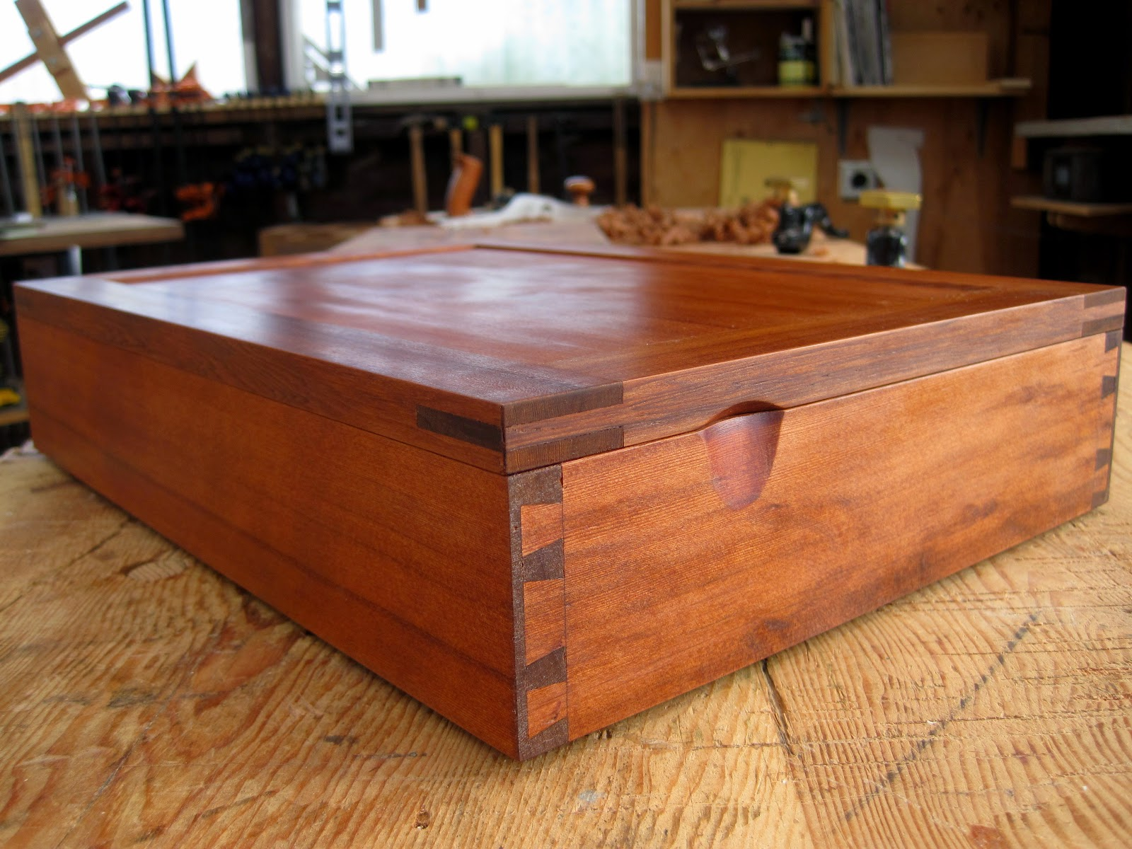 Manual: Diablo Woodworker Club Auction Jewelry Box In Reclaimed Redwood  Part Ii