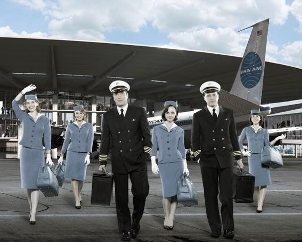 pan am cast photo, christina ricci stewardess photo