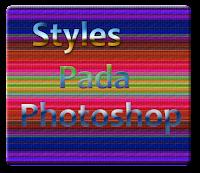 Contoh Styles pada Photoshop