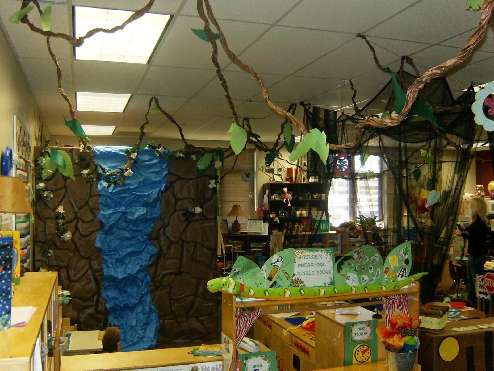 C c preschool factory jungle fun for Jungle themed playroom