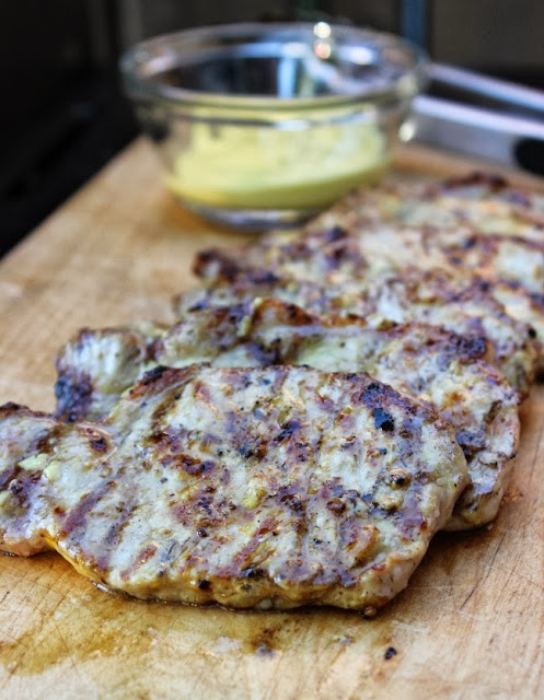 Succulent Honey Mustard Grilled Pork