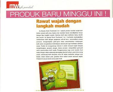 AS Beauty di Mingguan Wanita ( 28hb Januari - 3 Februari 2011 )