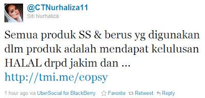 Siti Nurhaliza Jawab Tuduhan Isu Produk SimplySiti Tidak Halal
