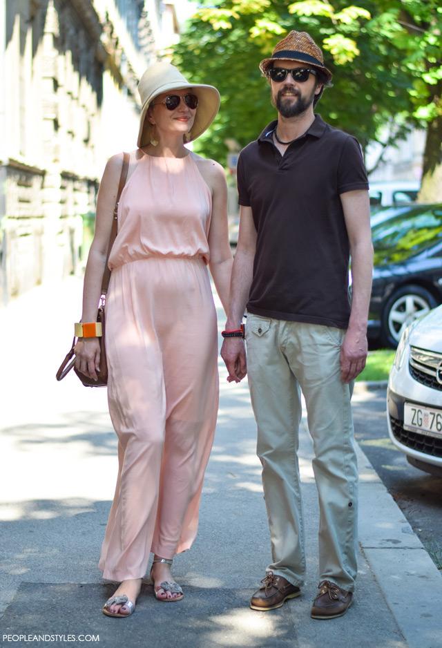 Chic couple street style: Tatjana Rajković i Hrvoje Krajnović
