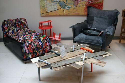 The art of up cycling recycling ideas for furniture for Recycling furniture decorating ideas