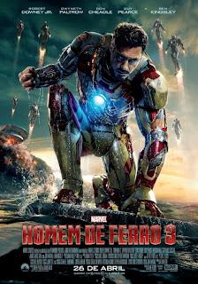 """Poster do filme """"Homem de Ferro 3"""""""