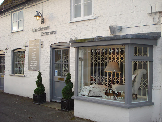 The exterior of Lisa Sansom Interiors