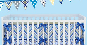 I Heart Pears Affordable Crib Bedding At Oopsie Daisy