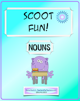 photo of Scoot Fun Nouns, games, TeachersPayTeachers.com Ruth S.