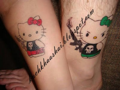 Matching Tattoos on Cool Matching Tattoos   Kuch Khaas Hai