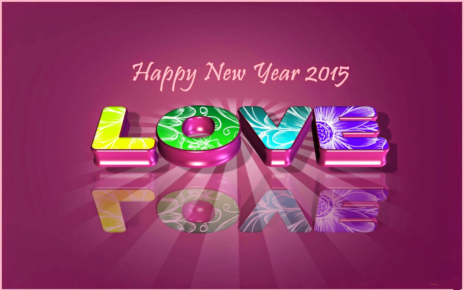 Happy New Year 2015 Love Cards Free Download