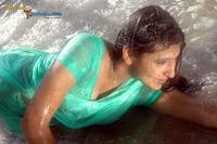 Monica Hot Saree Stills