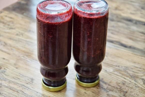 hoe maak je bramensap - carola bakt zoethoudertjes
