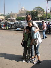 On the Street of Cairo Before Uprising