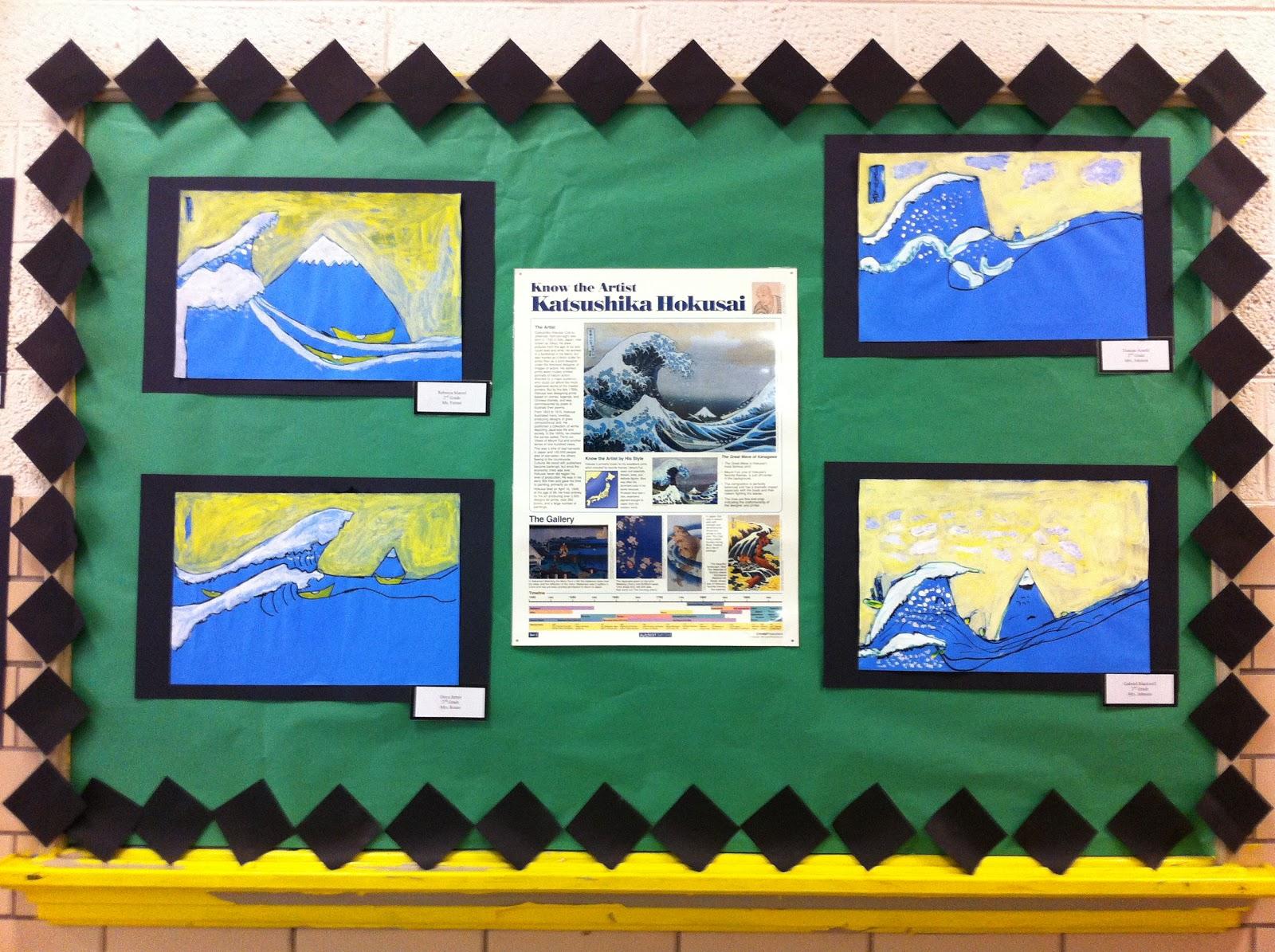Jasper Johns USA Map - Second Grade   Miss Pickett\'s Art Adventures