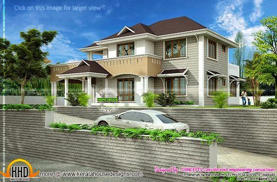Western model residence