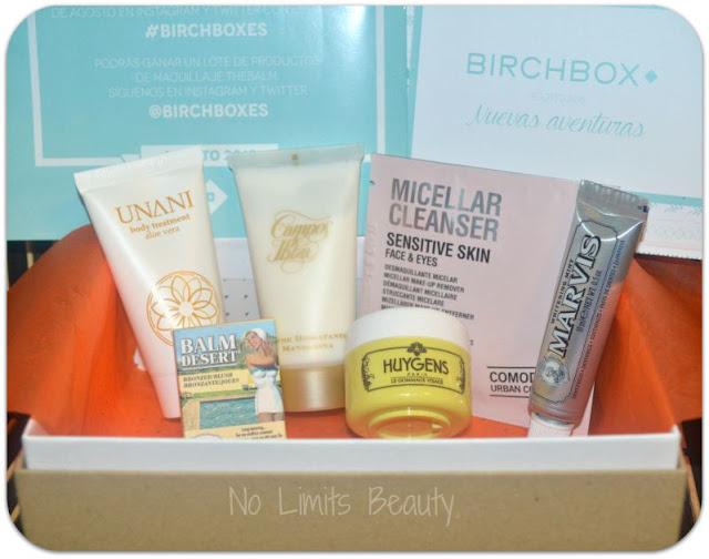 BirchBox Agosto 2015: Nuevas aventuras