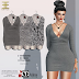 ENTICE -  WHENEVER, WHEREVER DRESS GREY