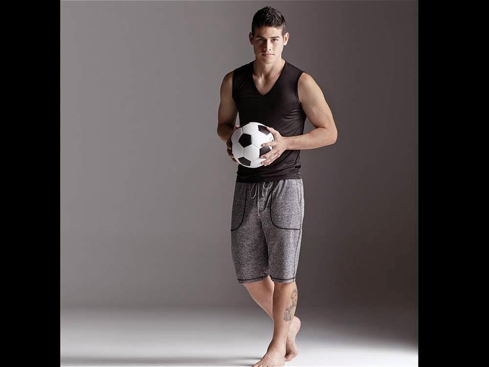 James rodr guez modelo de ropa interior j10 - Ropa interior real madrid ...