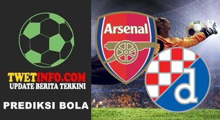 Prediksi Arsenal vs Dinamo Zagreb