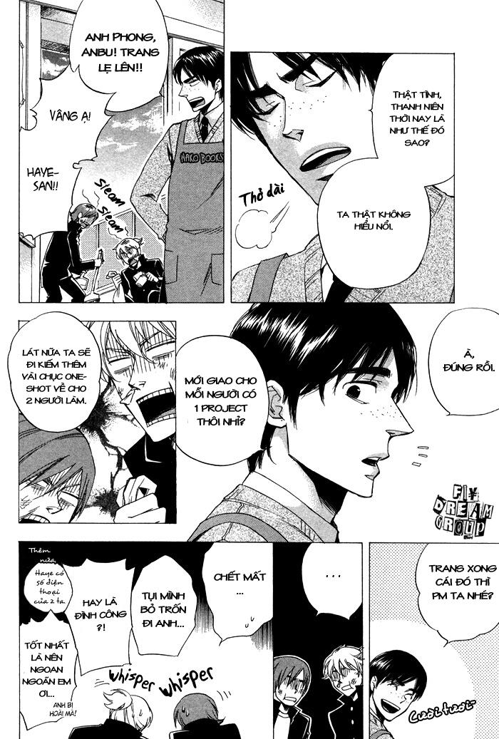 Kiben Gakuha, Yotsuya Senpai no Kaidan chap 18 – End Trang 20 - Mangak.info