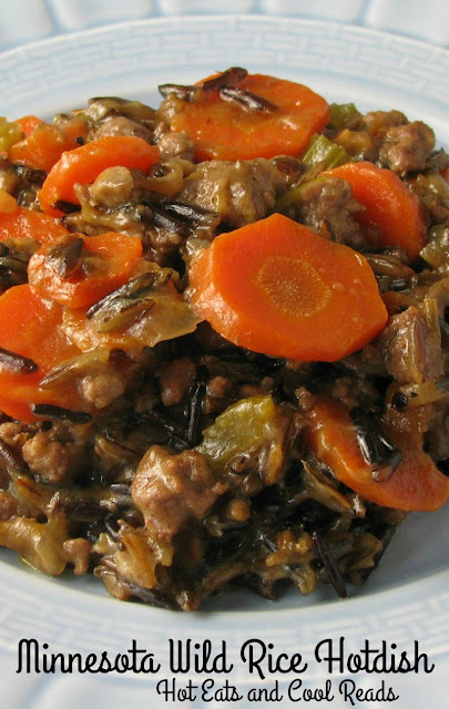 Classic Minnesota comfort food! This casserole is a tried and true family favorite! Minnesota Wild Rice Hotdish Recipe from Hot Eats and Cool Reads