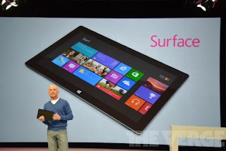 Microsoft Luncurkan Tablet Surface