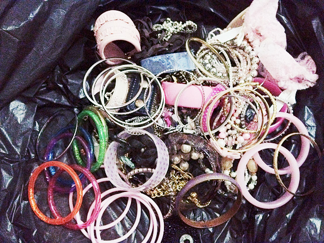 All preloved, FYI. Same for hair accessories! Didn