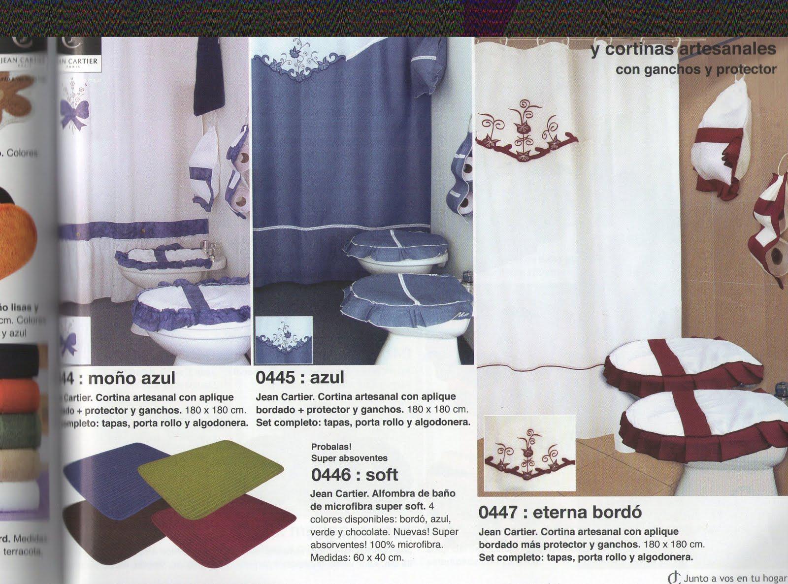 Jean cartier temporada oto o invierno 2011 cortinas de for Ganchos para cortinas de bano de resina