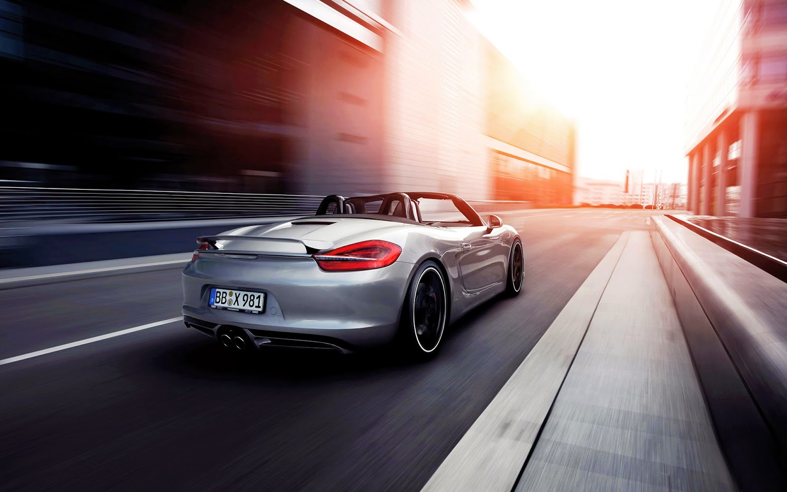 2014 Porsche Boxster HD Wallpaper