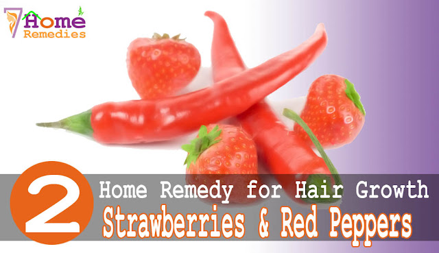 Strawberries are Effective solution to hair growth
