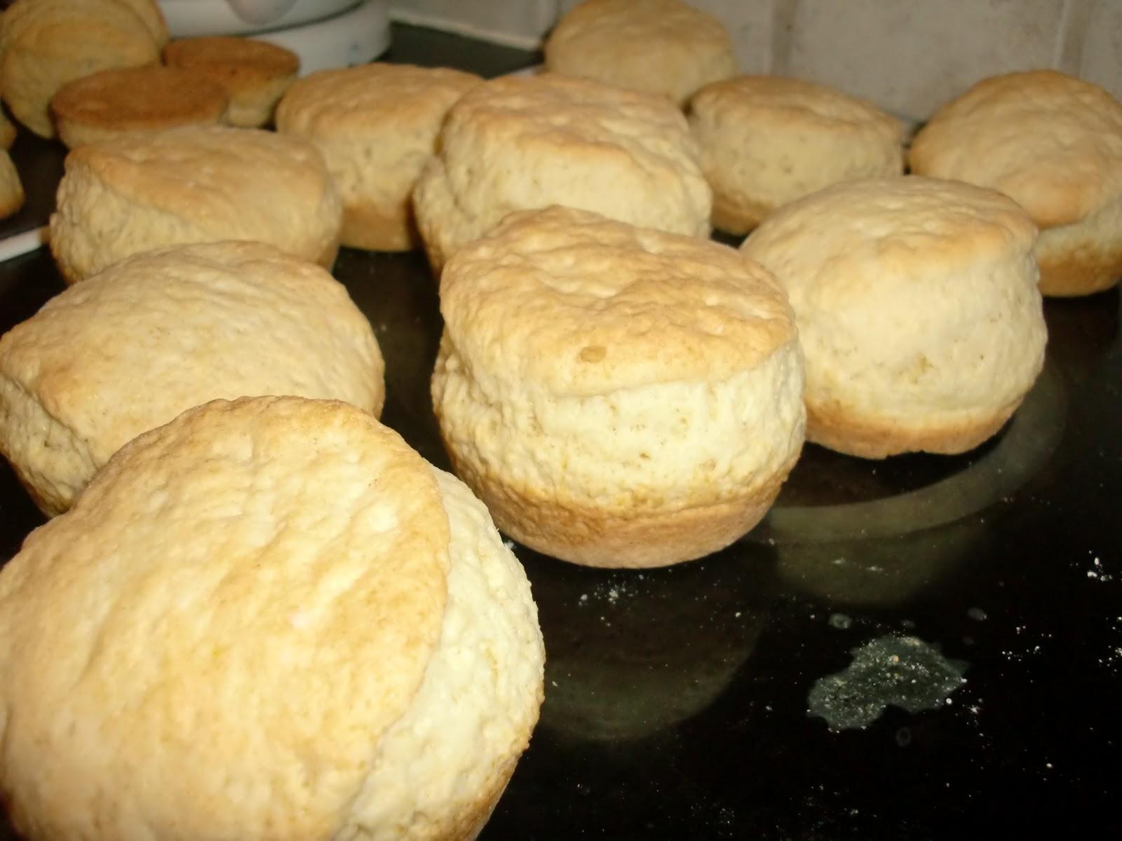 scones med ägg