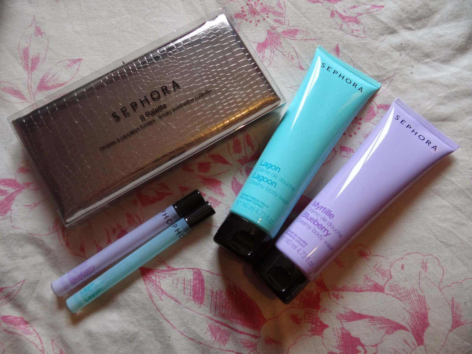 the fiend uk make up and sephora haul wash eau de toilette