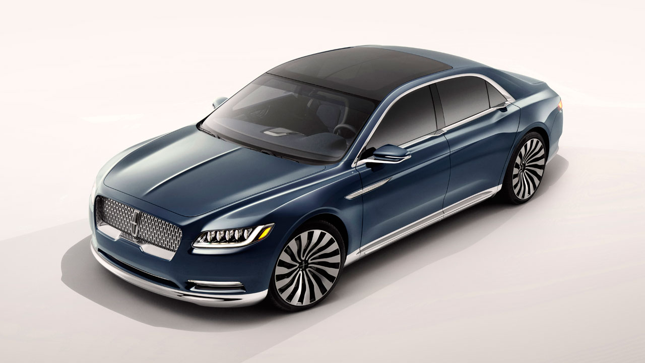 Luxury Cars and Watches - Boxfox1: Lincoln Continental Concept Shows