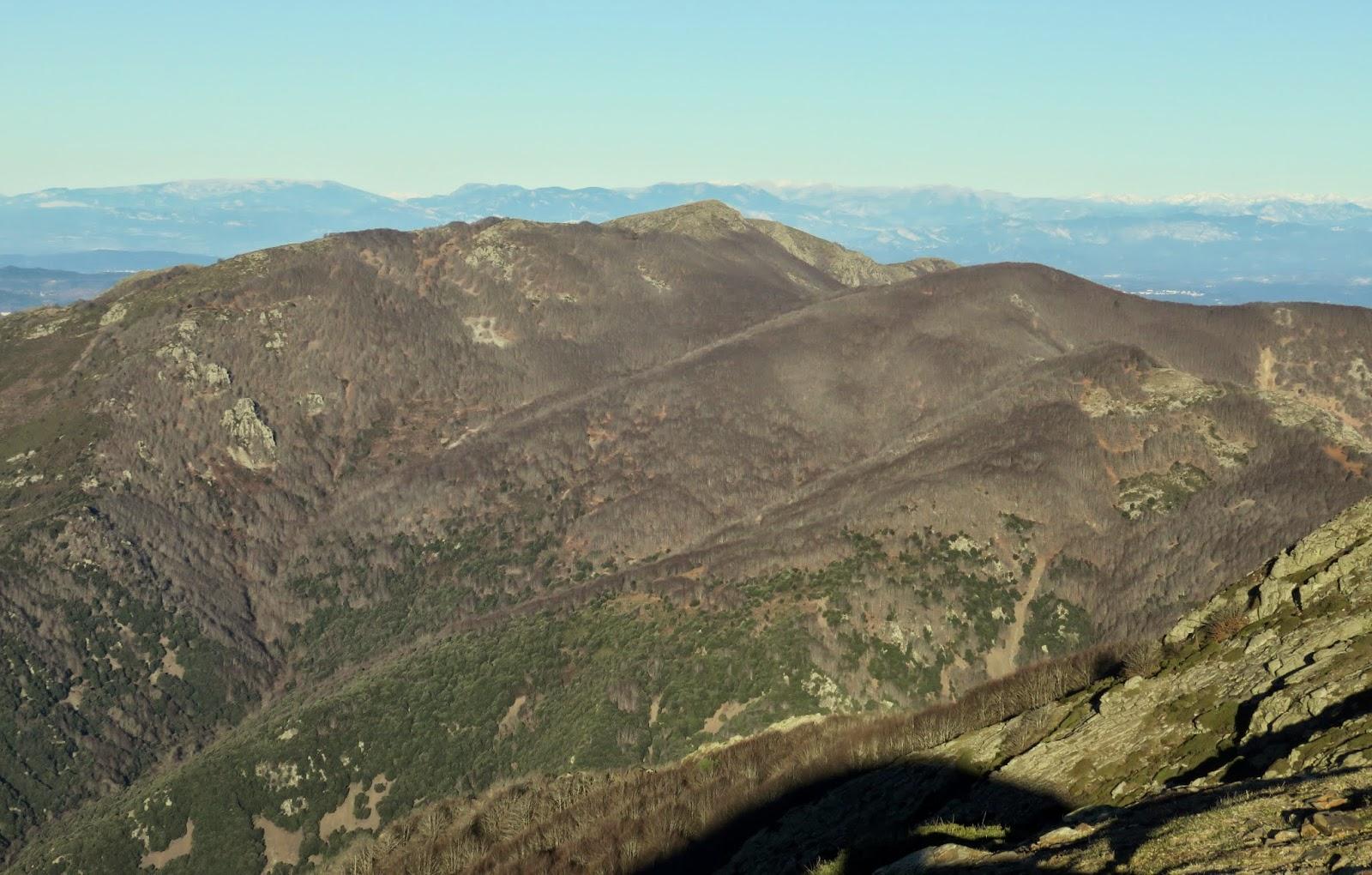 Turó de l'Home, Les Agudes, Fageda del Montseny, Passavets