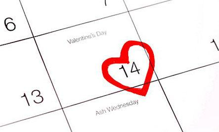 How To Survive Valentine's Day When You're Single  - valentine day - calendar