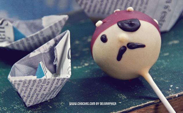 cakepop pirata
