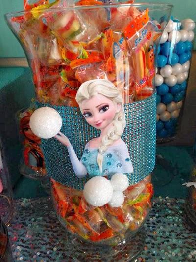 Centros de Mesa de Frozen, parte 1