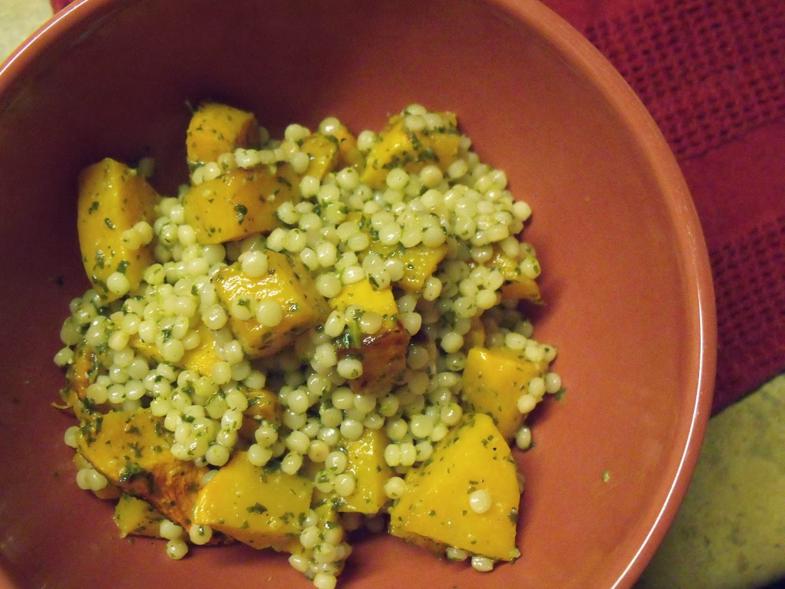 Simply Delicious: Israeli Couscous with Butternut Squash ...