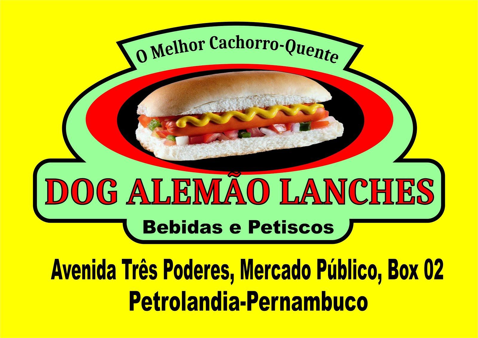 DOG ALEMÃO LANCHES